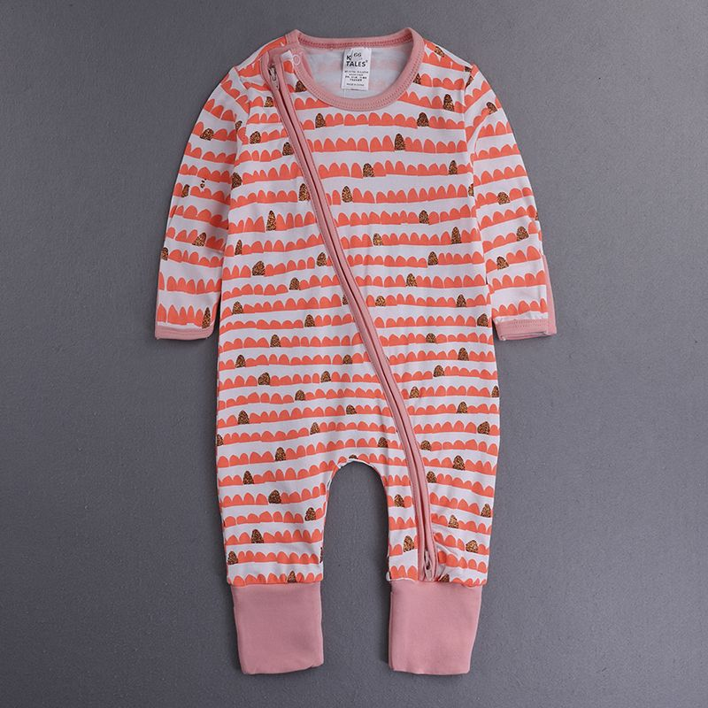 34f9fef6bc72 2016 Children s Clothing Pajamas Newborn baby rompers baby cotton ...