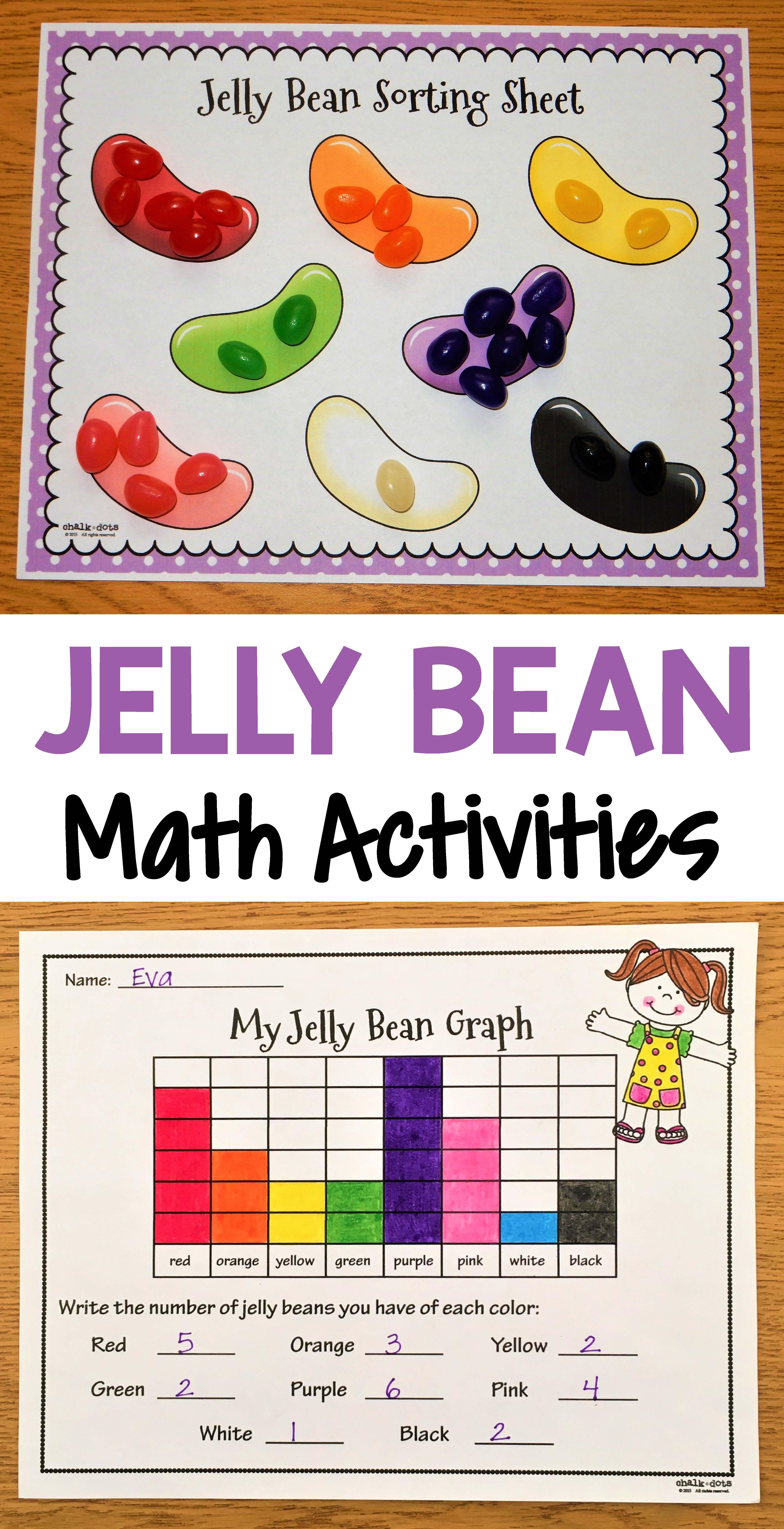 Jelly Bean Math Activities