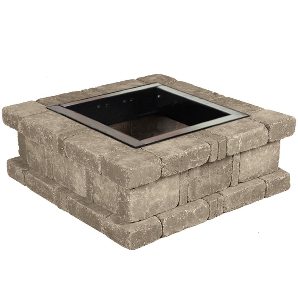 Diy Rumblestone Seat Wall And Fire Pit Kit Installation Wall Seating Fire Pit Patio Fire Pit Kit