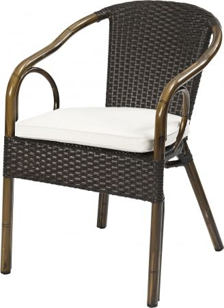 Terrassenstuhl Cerena 100 Mocca Wickelung In Bambus Optik Mobel Star Outdoor Chairs Outdoor Furniture Home Decor