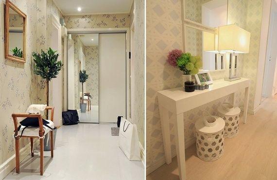 Como decorar el hall entre apartamentos buscar con google hall y corredores pinterest Como decorar un hall