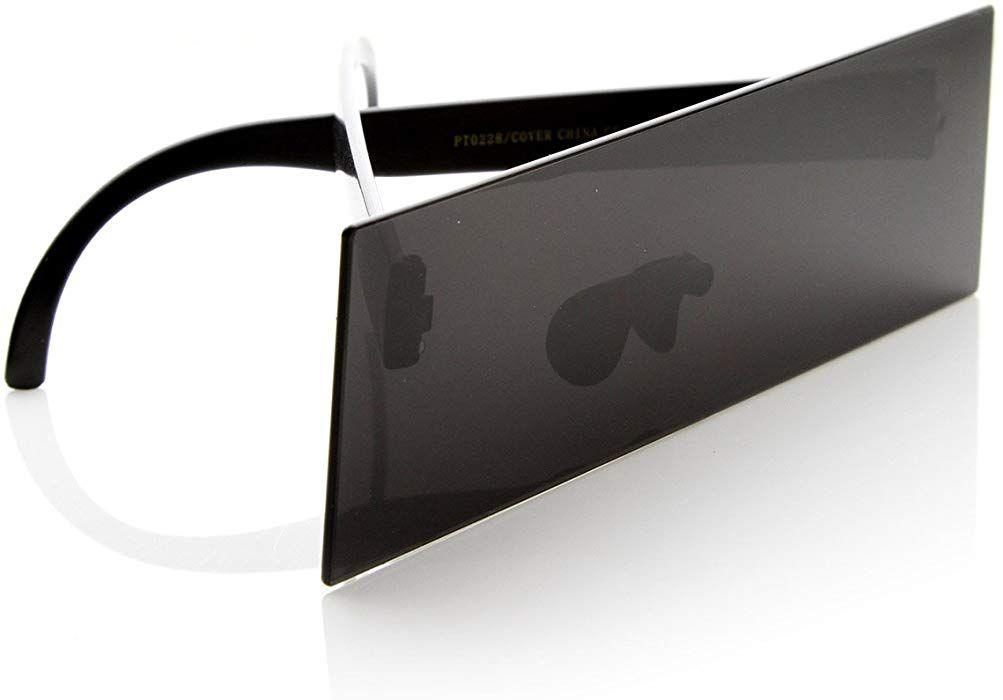 a2e529f20f9 Amazon.com  Internet Censorship One-Piece Black Bar Novelty Sunglasses (2-