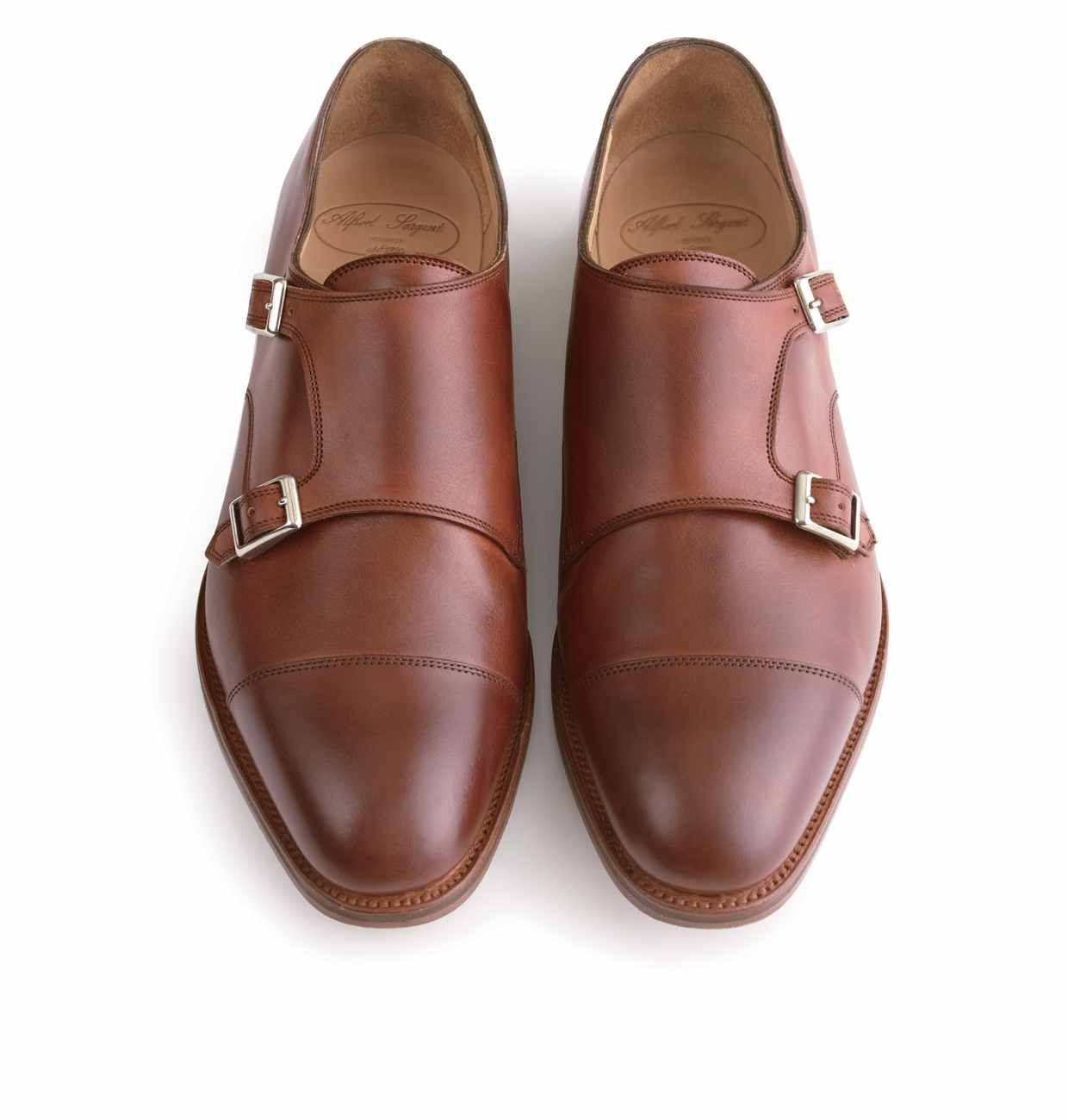 a7e3f6d4fc051 Alfred Sargent for J.Crew Double Monk Strap Shoes | Guy looks and ...