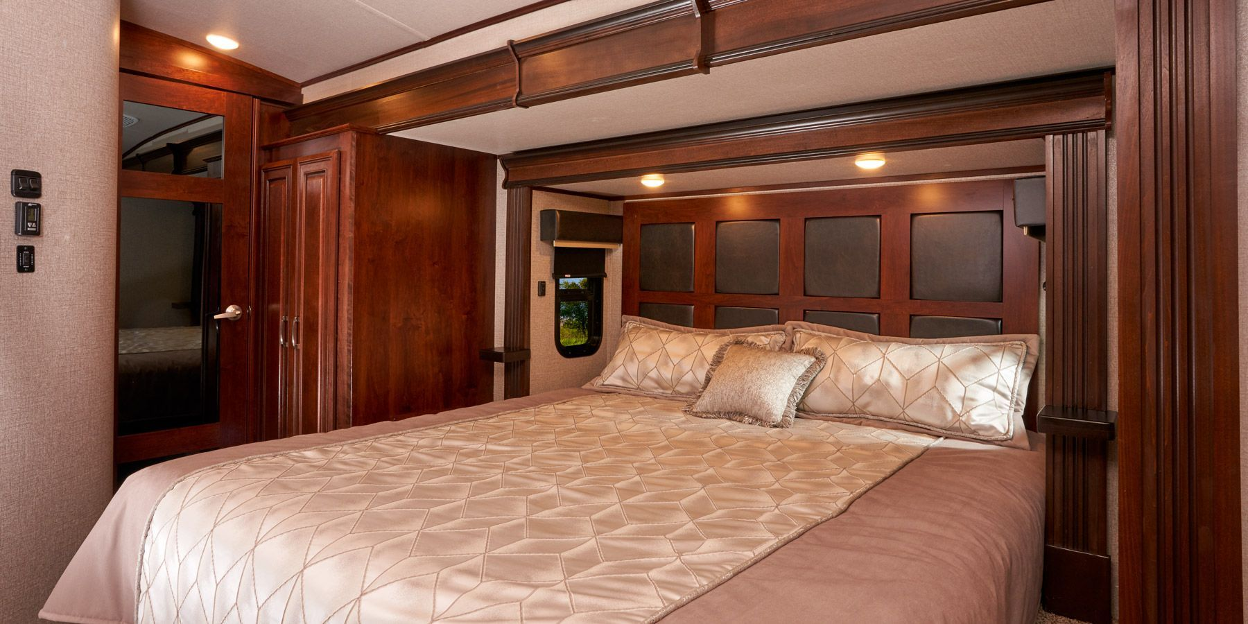 Each Pinnacle Bedroom Includes A Jayco Luxury Sleep System With A