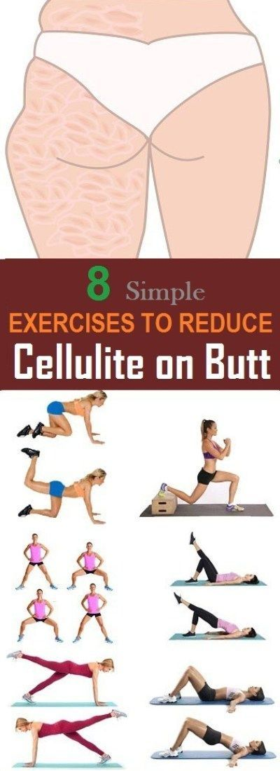 #effective #exercises #cellulite #reduce #most #butt #to #on8 Most Effective Exercises to Reduce Cel...