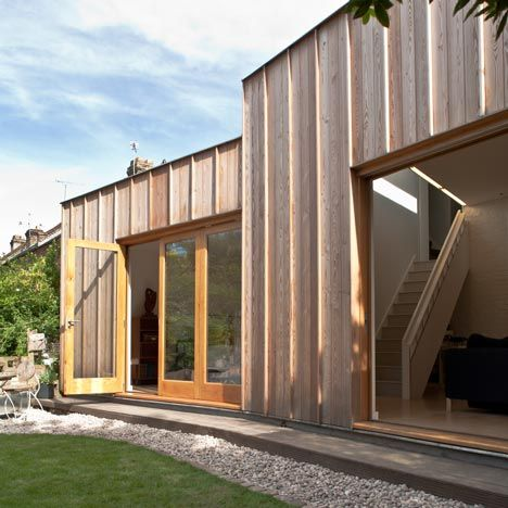 Repetition And Patterning And A Touch Of Green Timber Architecture Wooden Cladding Exterior Architecture