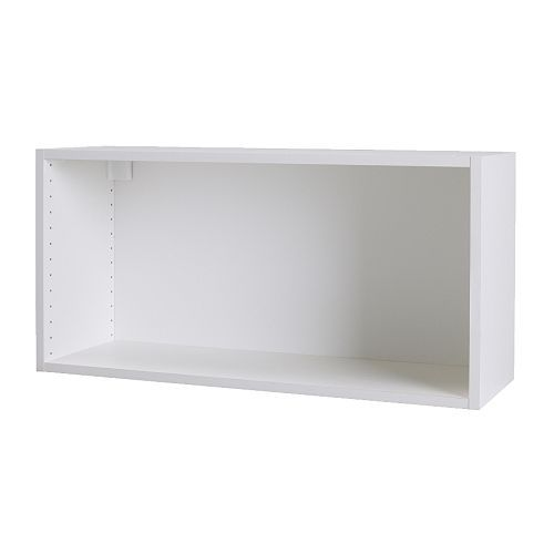 IKEA - AKURUM, Wall cabinet frame, white, 30x18
