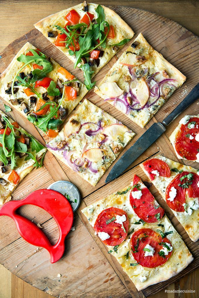 Tarta de verduras flambeada: sabrosa y crujiente – madame cuisine