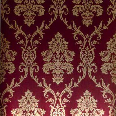 Ee55e228bec0d55727a88170c1a4e97b Jpg 400 400 Red And Gold Wallpaper Damask Wallpaper Victorian Wallpaper