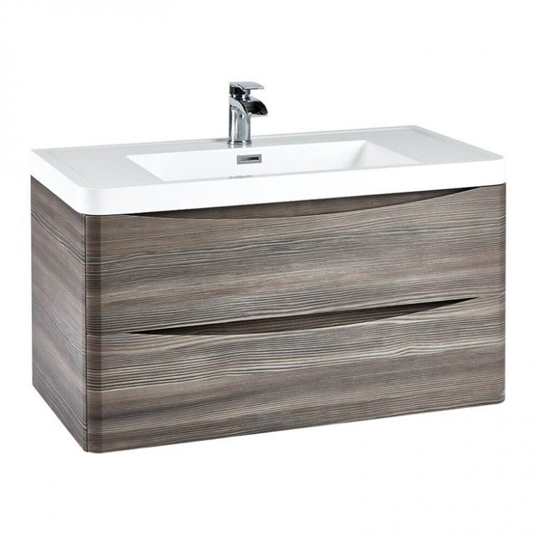 Best Harbour Clarity 900Mm Wall Hung Vanity Unit Basin 400 x 300