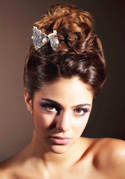 ideas de peinados de fiestas elegantes