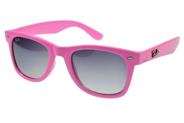 4750ea07e49d6 Ray Ban Wayfarer RB2140 Sunglasses Pink Frame Light Gray Lens   pink ...