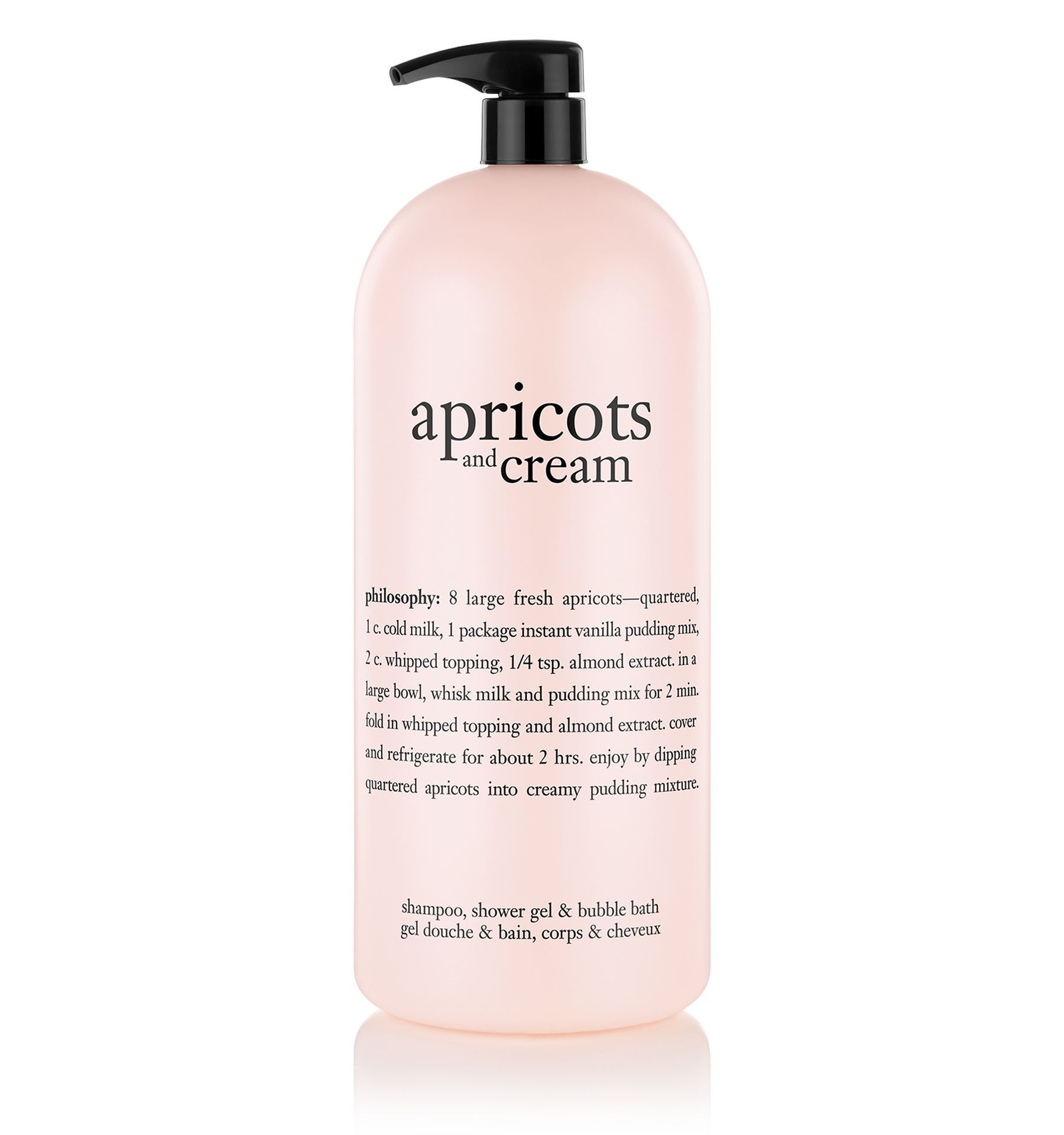 Apricots And Cream Shampoo Shower Gel Bubble Bath Philosophy New Shower Gel Bath And Body Care Bath And Body