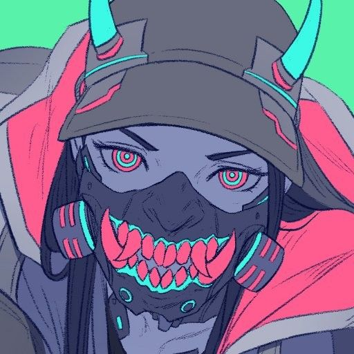 Pin By That Shu On Fantasy Females Anime Cyberpunk Art