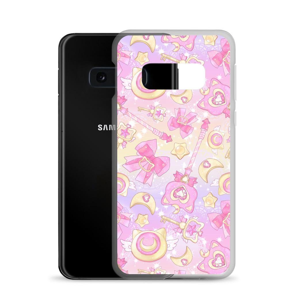 Magical Girl Samsung Case (Pink) - Samsung Galaxy S10e