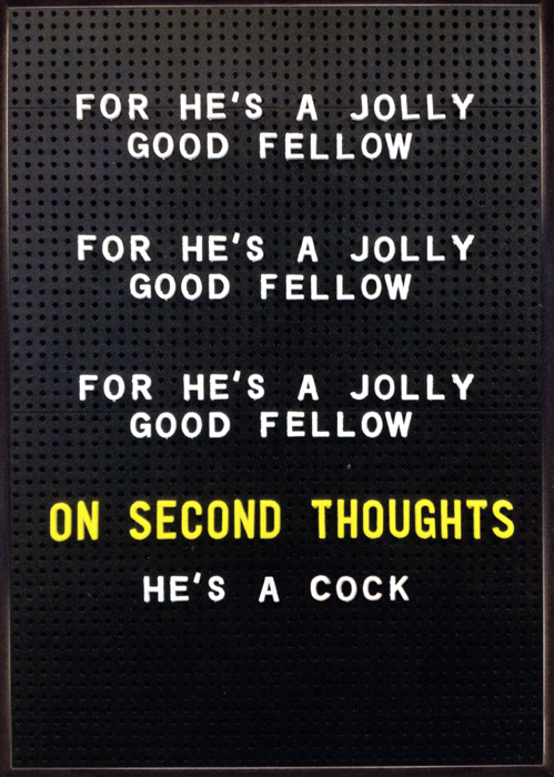 Rude Cards For Hes A Jolly Good Fellow – Humorous Birthday Cards Men