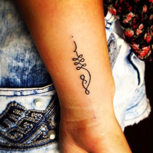 Symbol On Pinterest Symbol For Strength Unalome Tattoo And Hannah