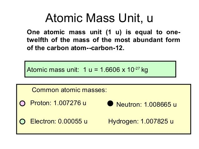 atomic mass unit - Google Search school Pinterest Atomic mass - new periodic table with atomic mass and isotopes