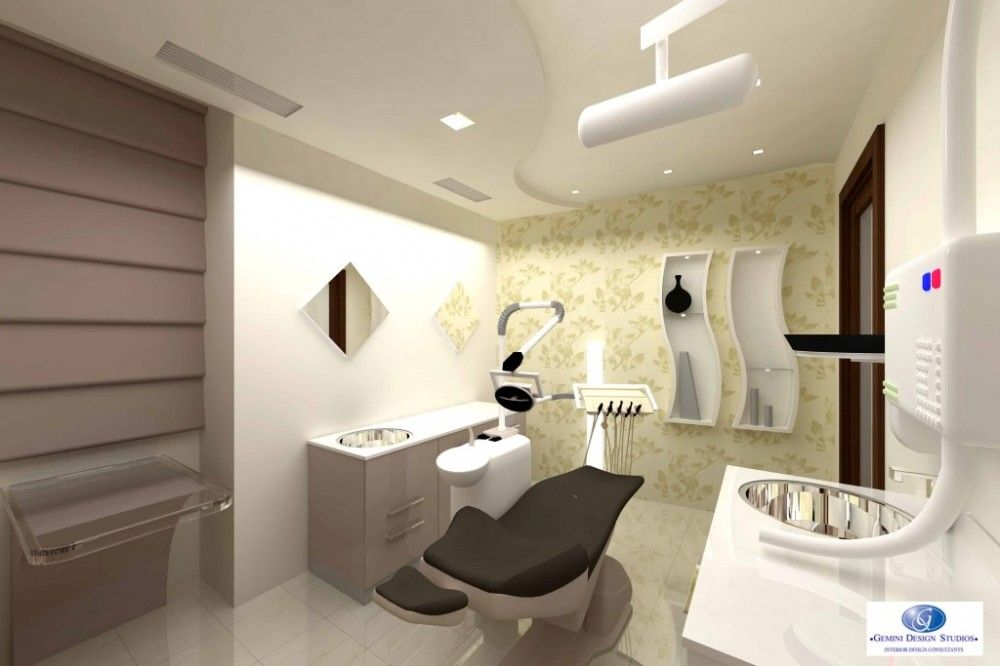 Contemporary dental clinic interior design for Clinic interior designs