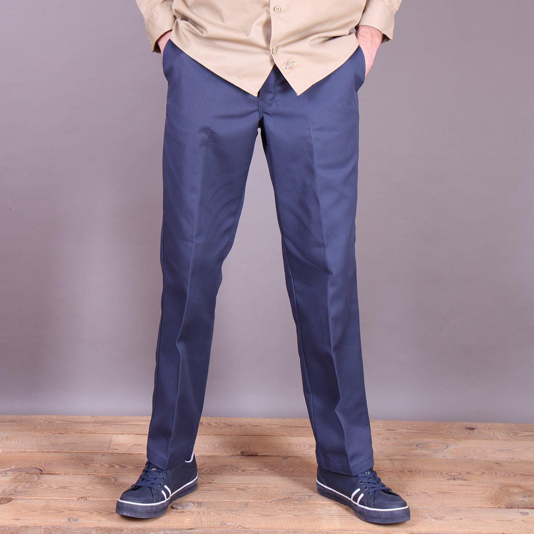 Niebieskie spodnie Chinosy Dickies Original 874 Work Pant Navy Blue   wwwbrandsplanetpl