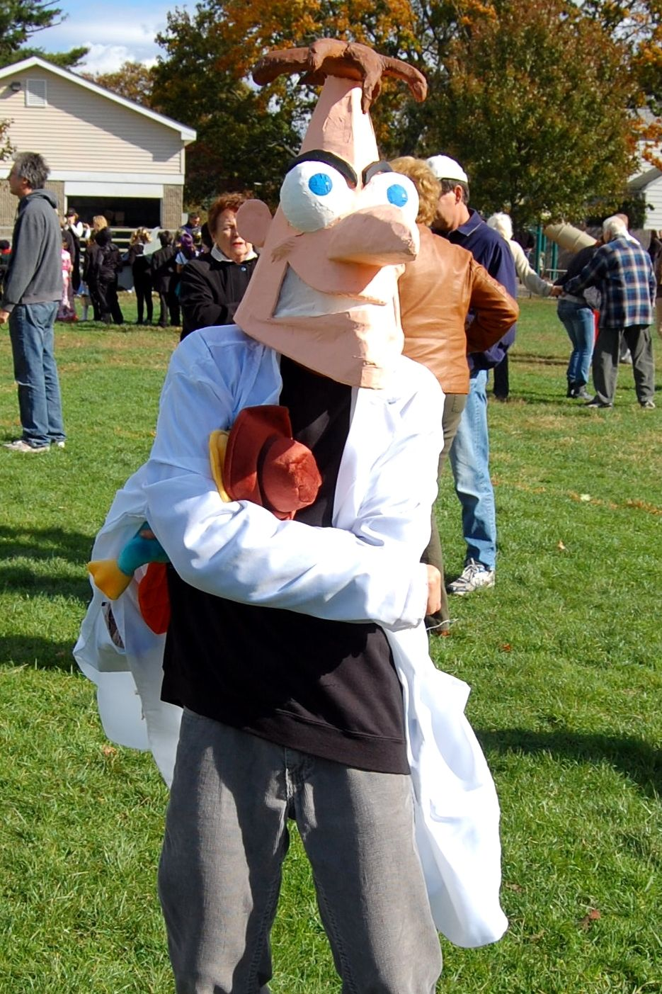 for all you phineas & ferb watchers! my husband made the dr