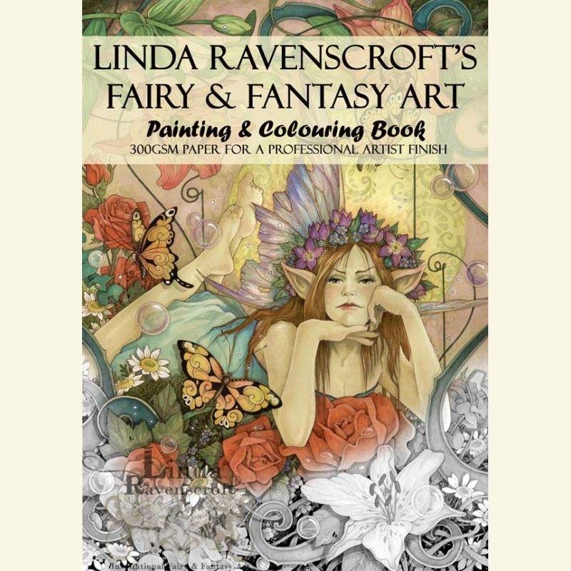 BOOK 1 - LINDA RAVENSCROFT\'S FAIRY & FANTASY ART PAINTING AND ...