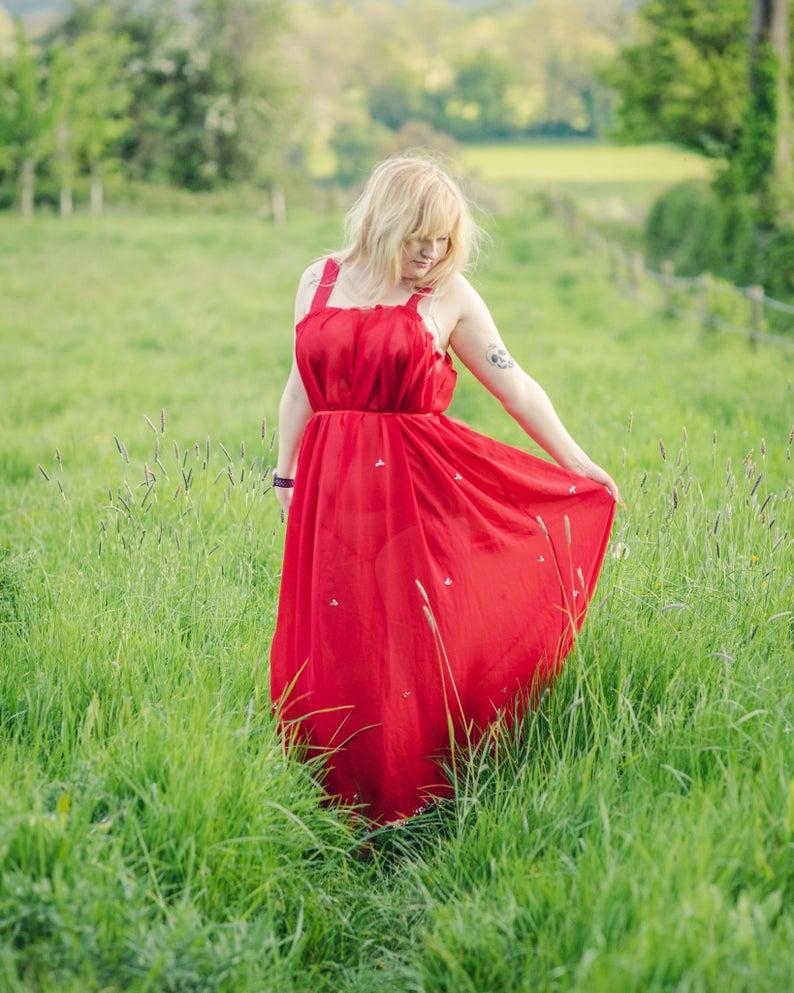 Summer V Neck Floral Printed Chiffon Maxi Dress Fashionmia Com Chiffon Dress Long Chiffon Maxi Dress Maxi Dress [ 1200 x 900 Pixel ]