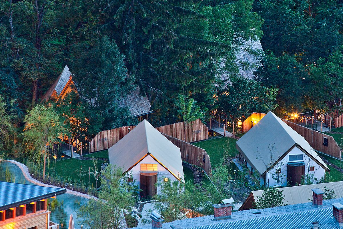 Glamping Project Made By GLAMPro, Resort Garden Village Bled, Slovenia.