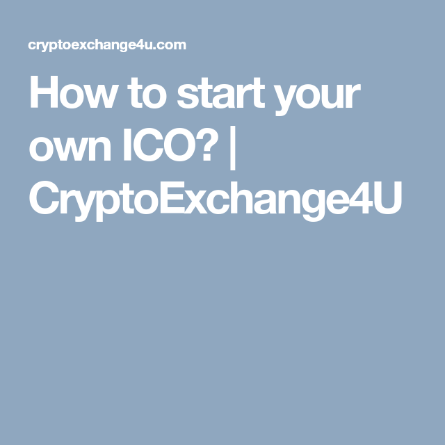 start your own ico