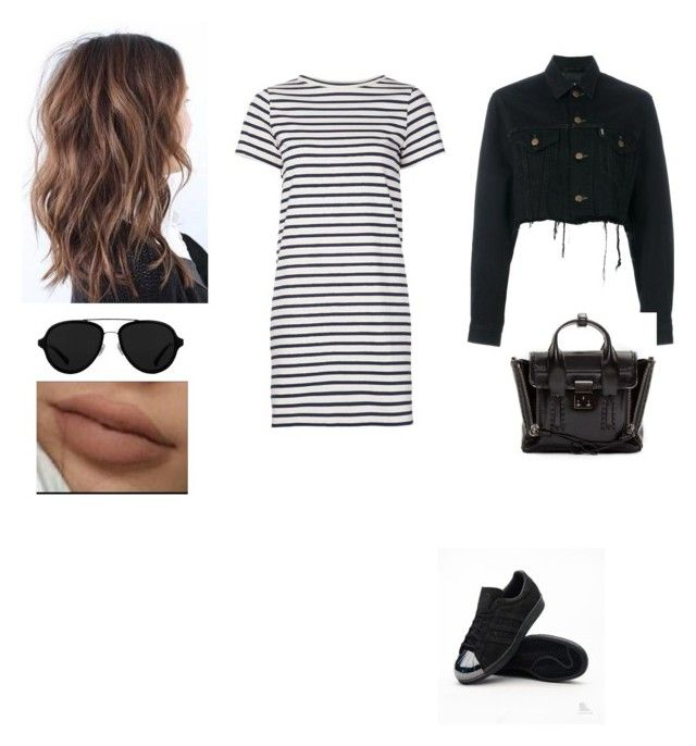 """Untitled #559"" by insafsat on Polyvore featuring M.i.h Jeans, Blackyoto, adidas Originals and 3.1 Phillip Lim"