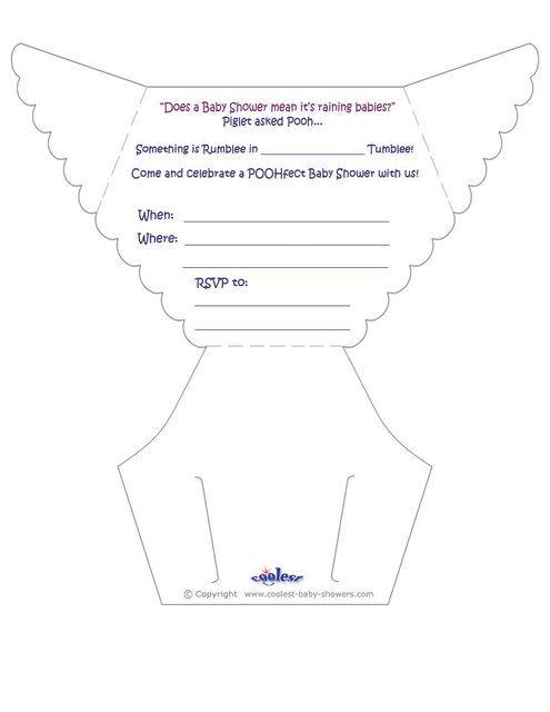 Moldes de invitaciónes baby shower para imprimir - Imagui