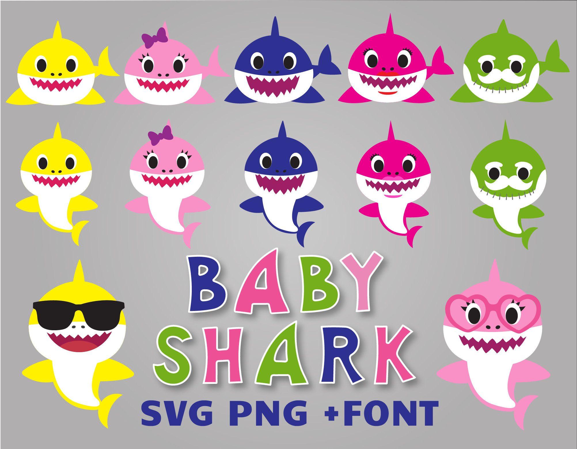 46+ Free baby shark svg trends