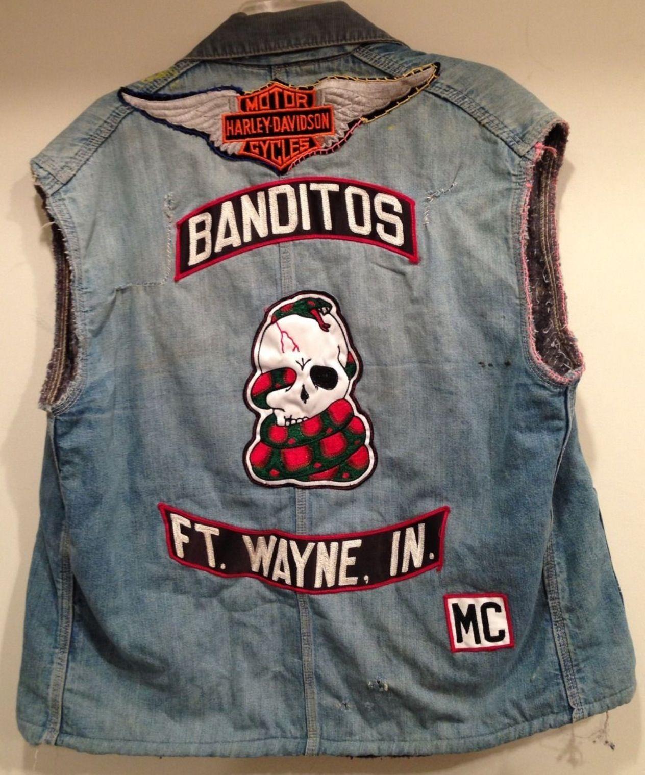 Banditos Motorcycle Gang Jacket