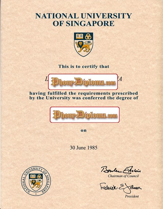 National university of singaporesingapore fake diploma from fake collegeuniversity diploma degree transcripts certificates samples from singapore yelopaper Images
