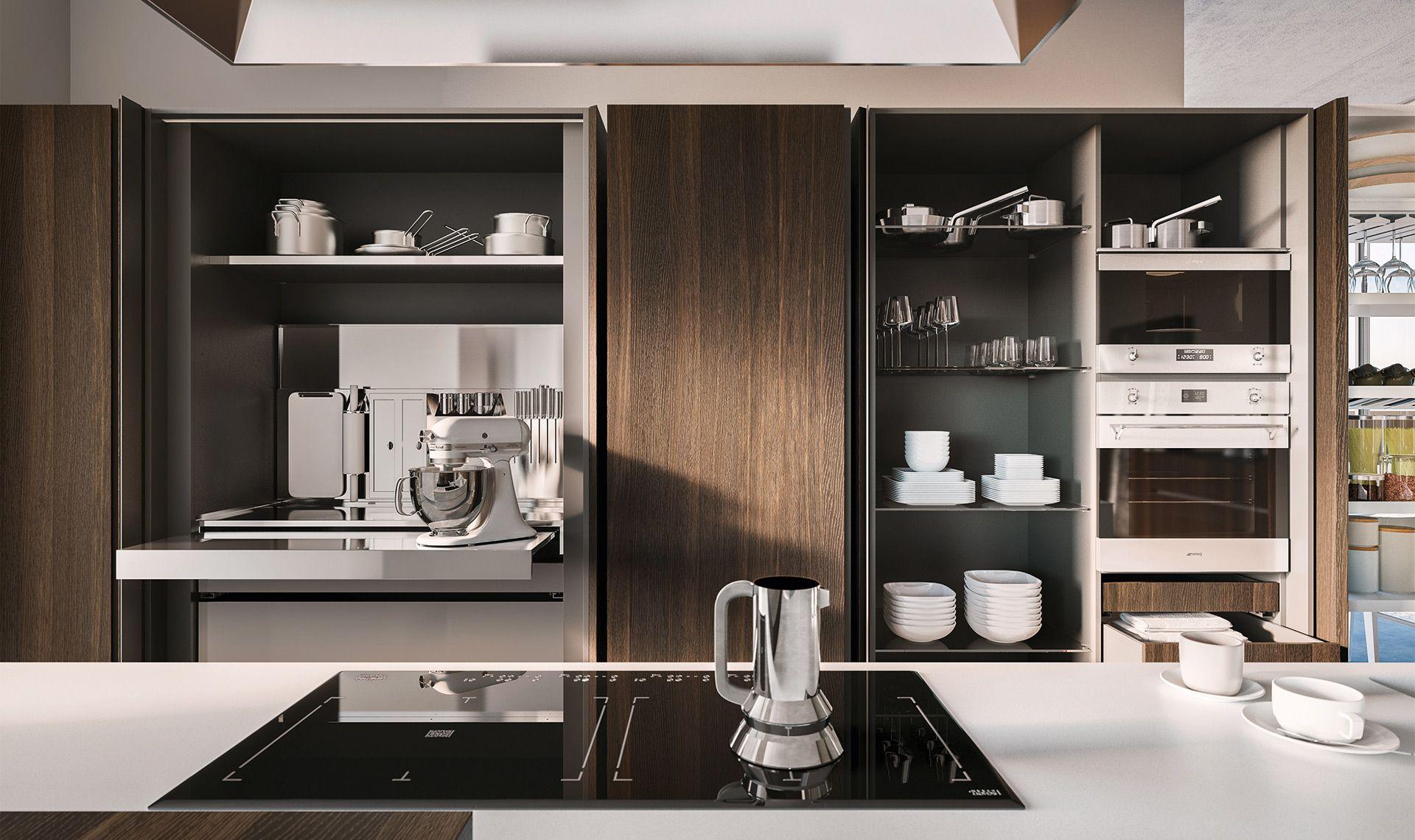 Libertà di comporre la tua cucina secondo le tue esigenze ...