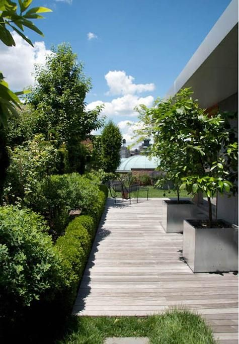 Green Roof Design by Goode Green in New York
