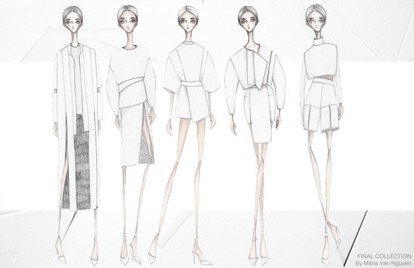 Maria Nguyen Of Vanillascented Is Such A Talent Amaz Fashion Illustration Fashion Illustration Sketches Fashion Books