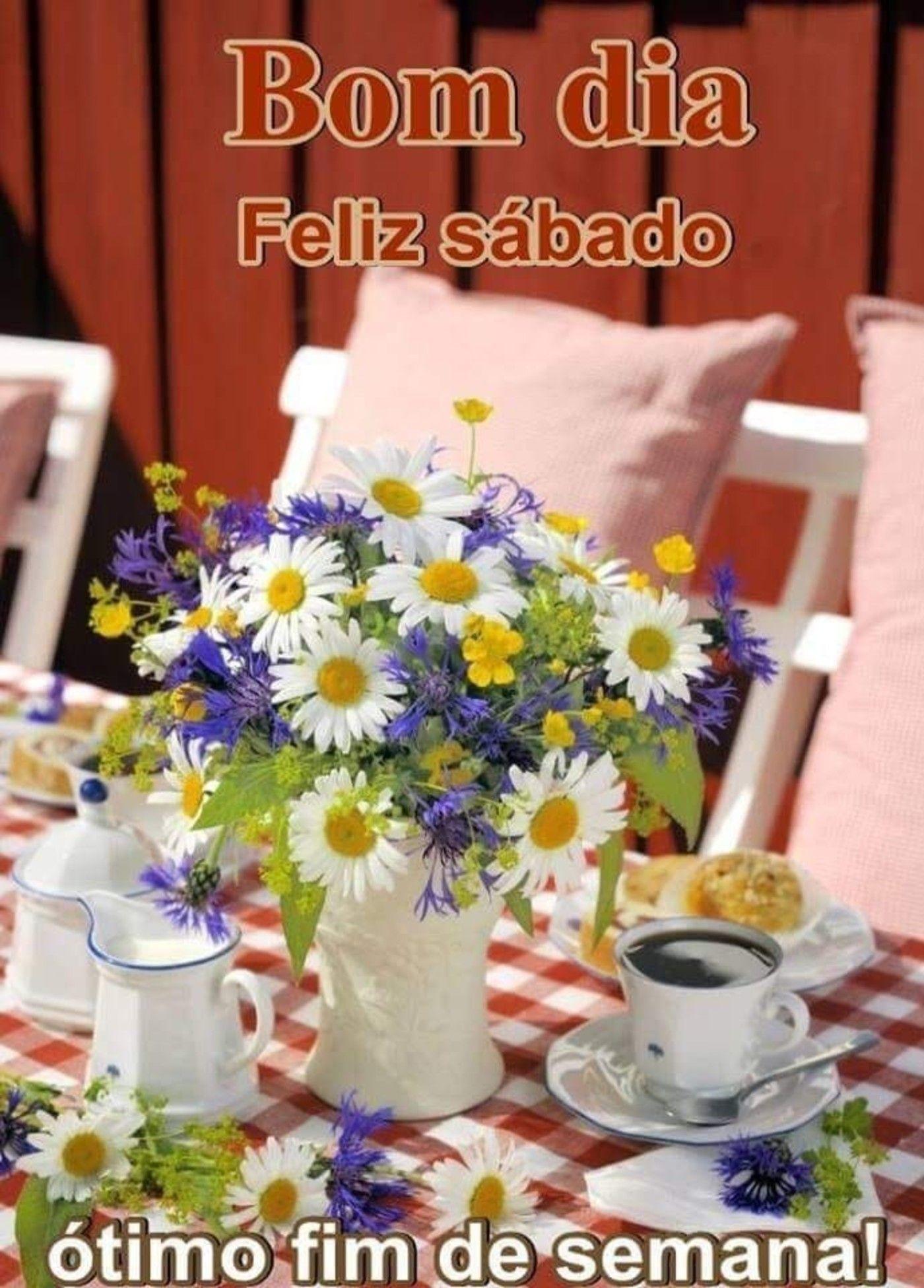 Bom Dia Feliz Sabado Otimo Fim De Semana 240 Bom Dia Sabado