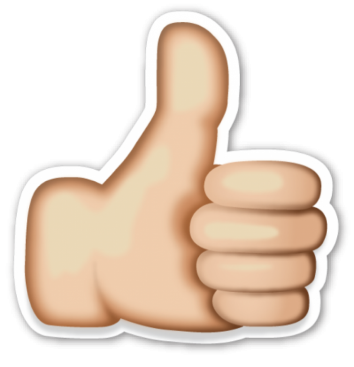 Like Emoji Thumbs Up Png Image Like Emoji Thumbs Up Sign Emoticon