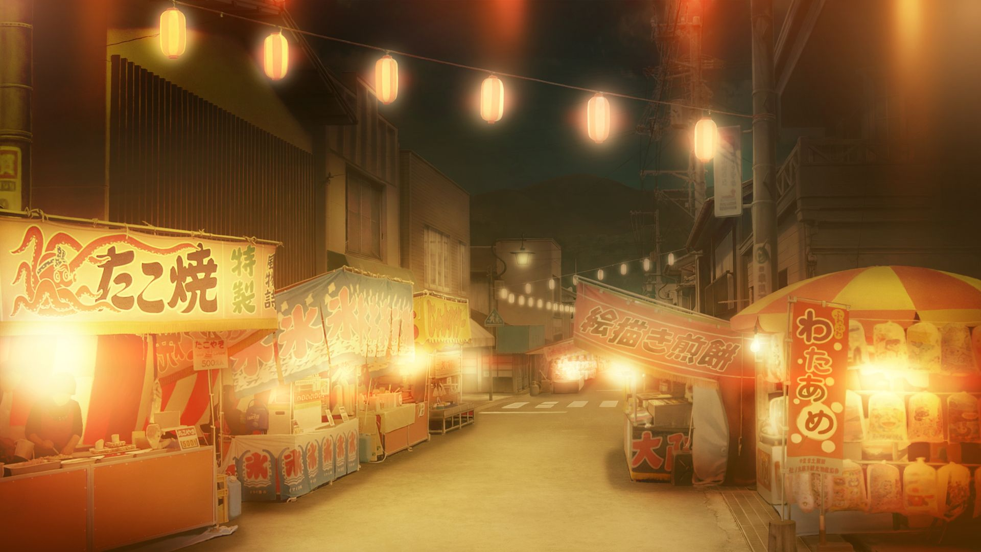 43516 Anime Scenery Japan Cityscape Jpg 1920 1080 Tempat