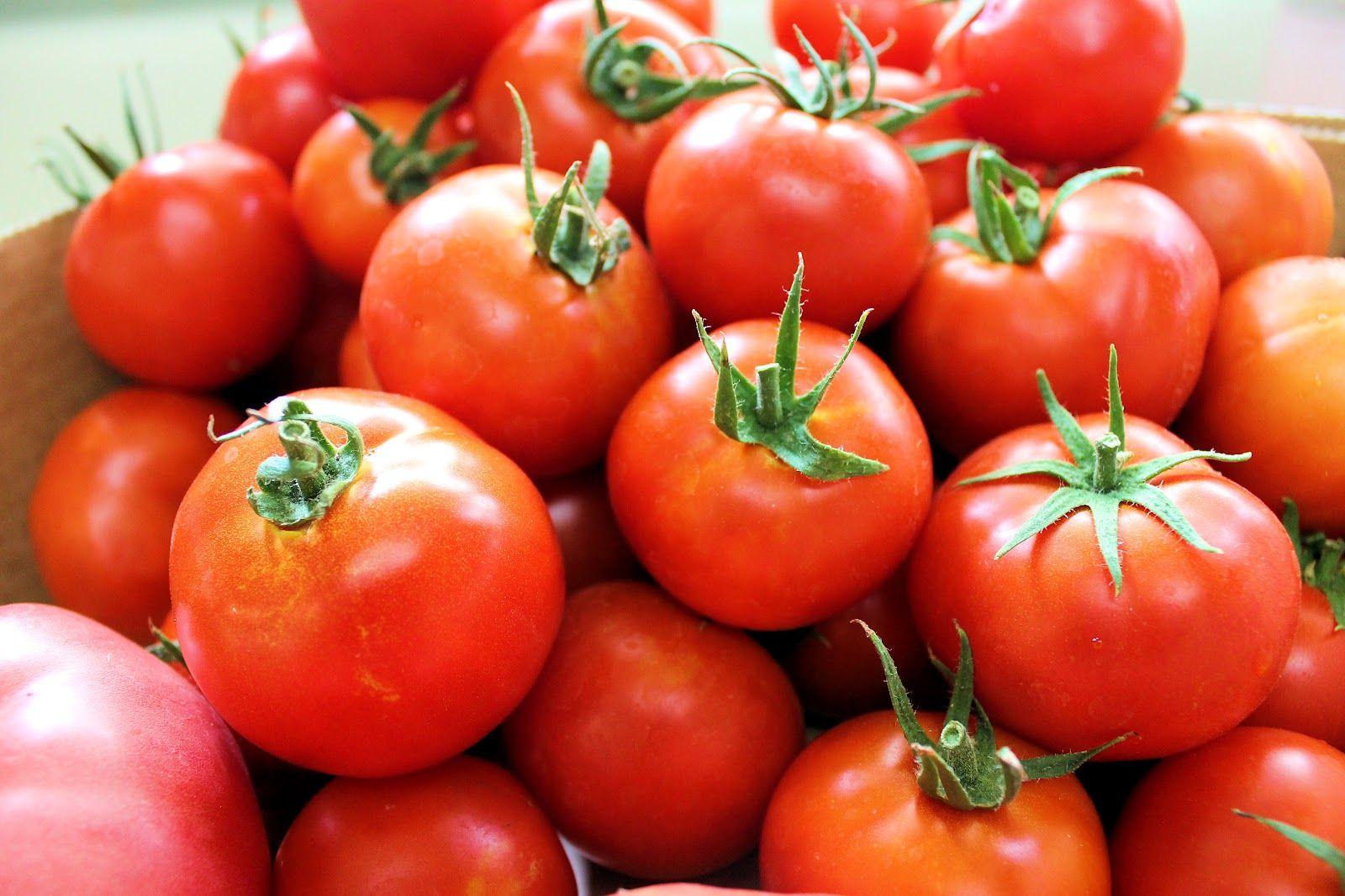 #Tomate. Composición por 100 gramos de porción comestible. Energia (kcal) 19, Agua (g) 93,9, Proteína total (g) 0,9, Lipidos totales (g) 0,1, Glúcidos totales (g) 3,5 Azúcares (g) 3,5, Fibra(g) 1,1 Minerales: Sodio, potasio, calcio, magnesio, fósforo, hierro y zinc. Vitaminas: vitamina A, C, E, tiamina, riboflavina, niacina, B6 y B9. Información obtenida de las tablas de composición de alimentos del CESNID. http://www.nutrigame.es