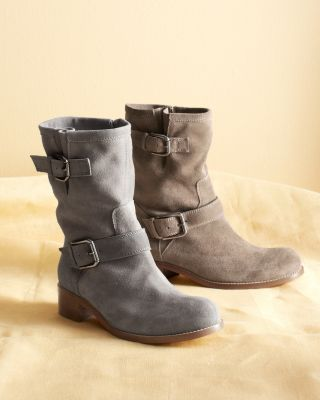 218196e198f Anna Suede Short Boots - Garnet Hill | Clothes on My Back | Shoes ...