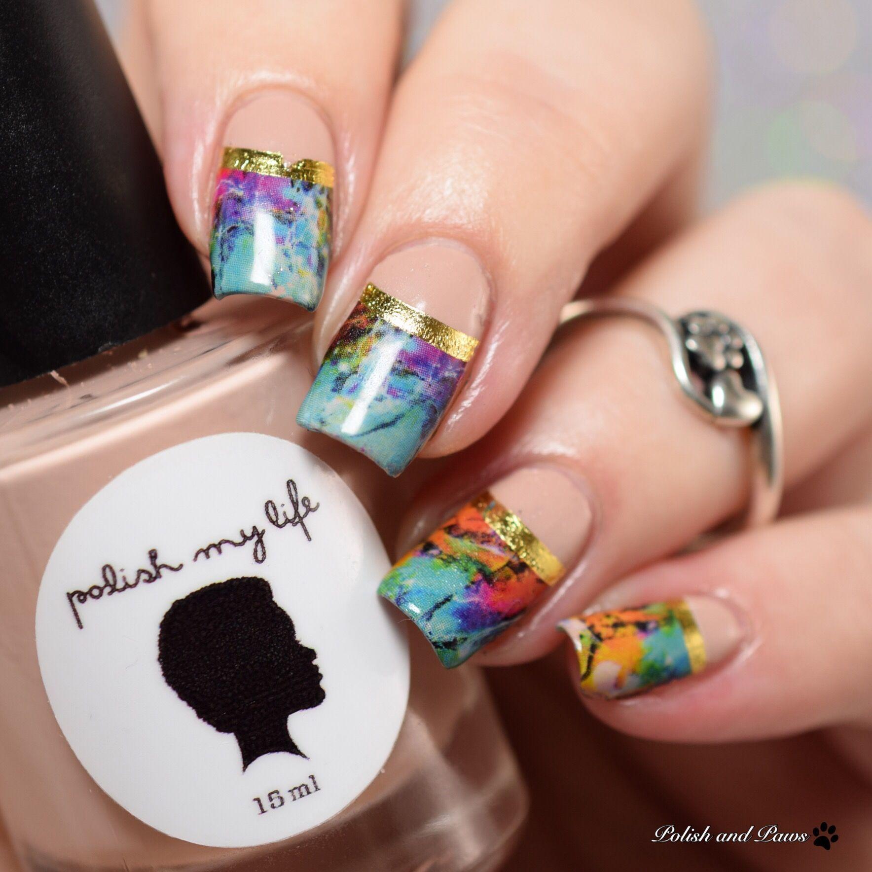 Polish and Paws Nail Art | Re-Pin Nail Exchange | Pinterest