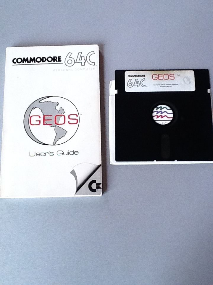 GEOS OS for Commodore 64 | Technology | Geek stuff, Classic, Old school