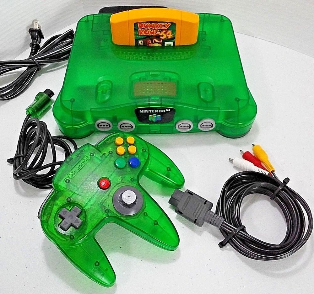 Details about N64 NINTENDO 64 CONSOLE + CONTROLLER(S) +