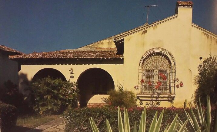 """California house"" in Vista Alegre, Santiago,  Cuba.  Late 1950's middle class home."