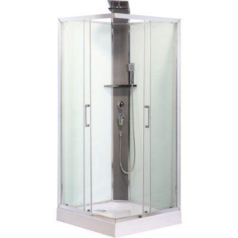 Cabine de douche carré 90x90 cm, Remix | Travaux rénovation sous ...