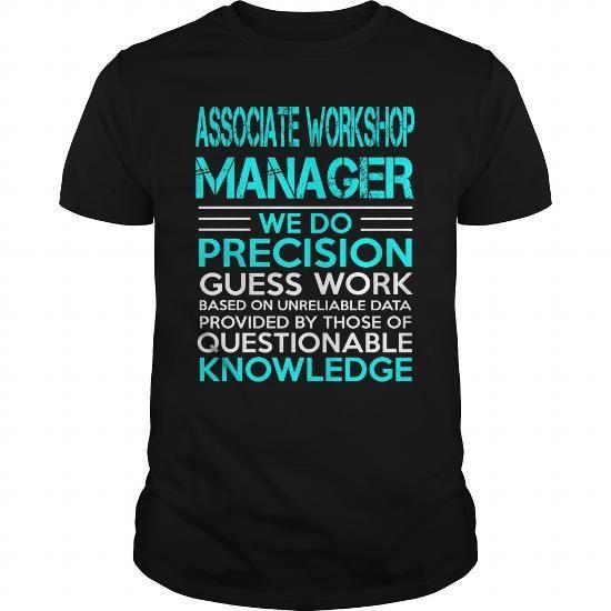 ASSOCIATE WORKSHOP MANAGER KING T Shirts, Hoodies. Get it now ==► https://www.sunfrog.com/LifeStyle/ASSOCIATE-WORKSHOP-MANAGER--KING-Black-Guys.html?41382