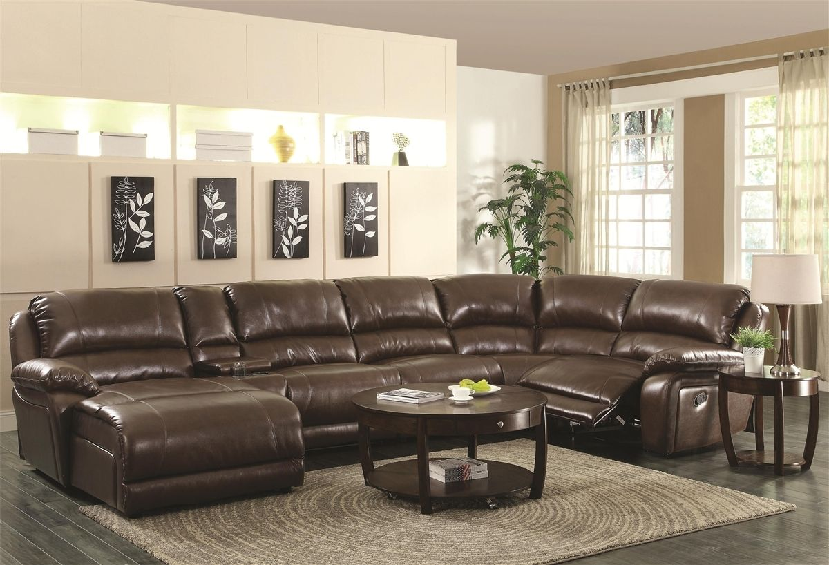 Leather Sectional Sofa With Chaise Lounge