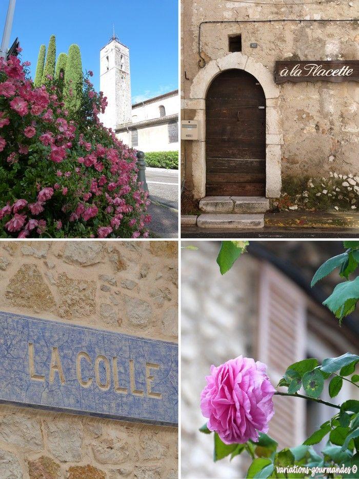 """Variations Gourmandes: Brioches à la rose pour """"une journée autour de la rose"""" ... à la Colle-sur-Loup."""